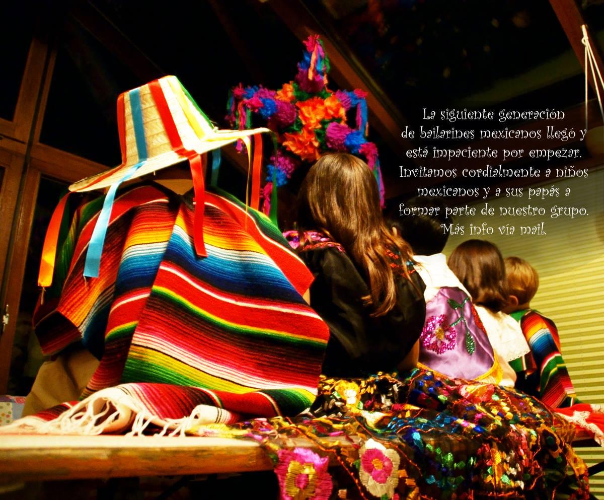 Grupo de baile folclórico mexicano infantil en Alemania