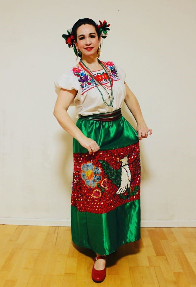 Mexikanische Tanzgruppe Adelitas