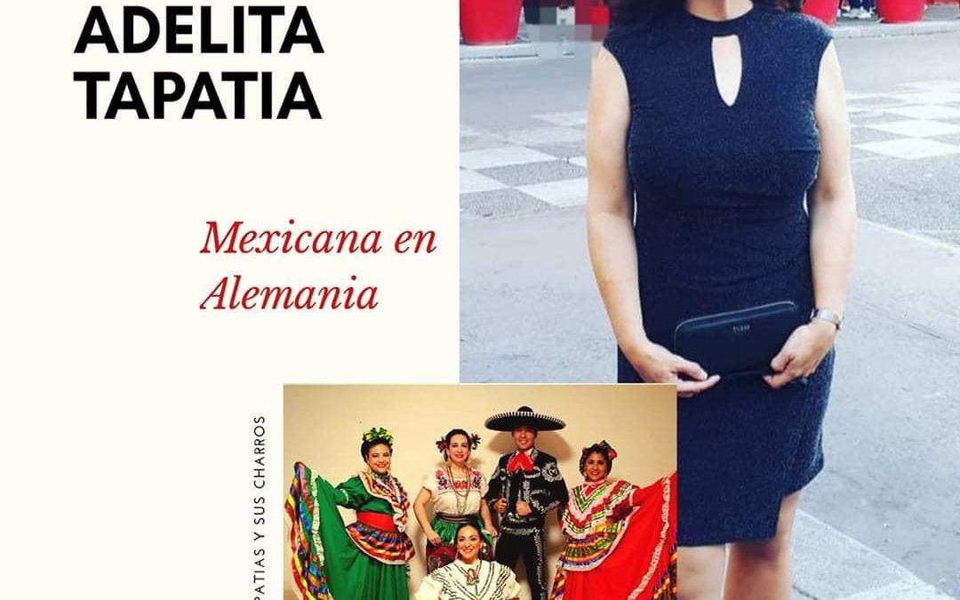 Tänze und Gefühl der mexikanischen Folklore in Europa. Umarmungen aus Europa.